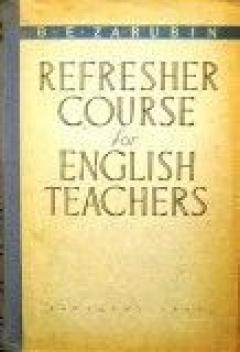 Refresher course for english teachers