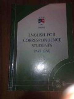 English for correspondence students (part one)